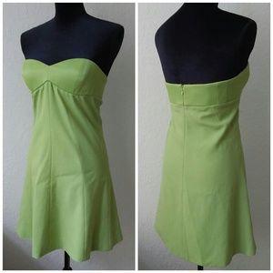 Emporio Armani strapless dress!!